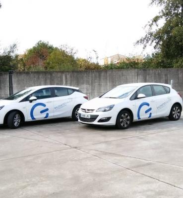 Rotulación vehículos empresa