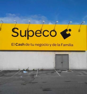 Cartel Corporativo Supeco Vilagarcía