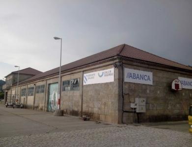 Lonas publicitarias sobre fachada Abanca