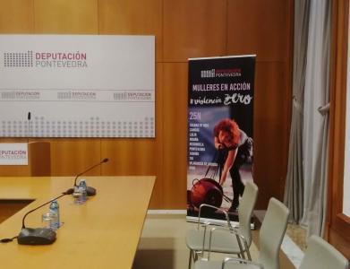 Rollers Publicitarios para Campaña Diputación de Pontevedra